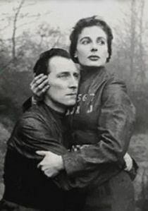 Peter Cushing and Yvonne Michell