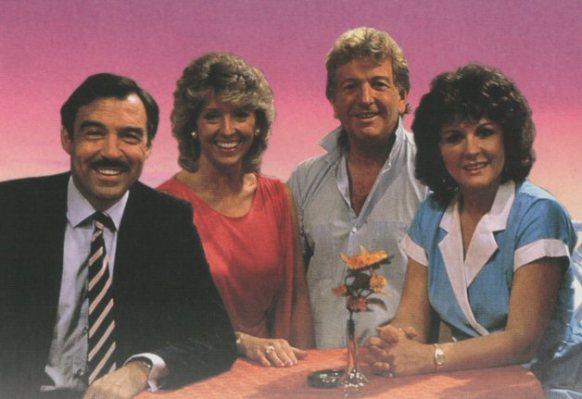 L-R - Neil Stacey, Joanna Van Gyseghem, Keith Barron and Gwen Taylor