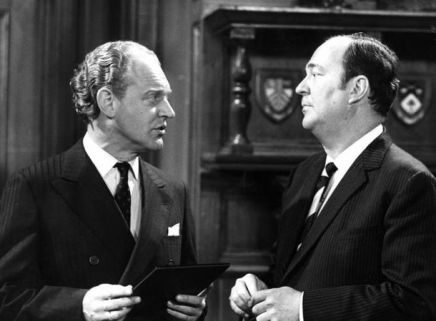 Frank Windsor as Det Sup John Watt and Stratford Johns as DCS Barlow