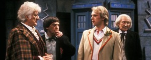 A cosmos without the Doctor scarcely bears thinking about.  Doctor Who - The Five Doctors
