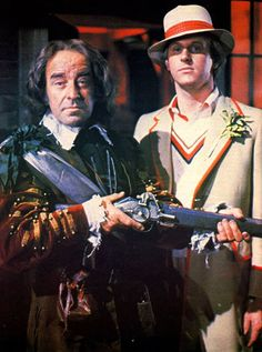 Richard Mace (Michael Robbins) and The Doctor (Peter Davison)