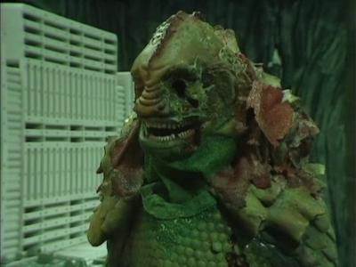 The Terileptil Leader (Michael Melia) looking slightly less lovely