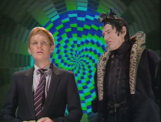 The Black Guardian makes Turlough an offer he can't refuse