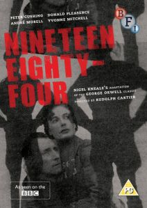 BFI DVD of Nineteen Eighty Four (BBC 1954) now cancelled