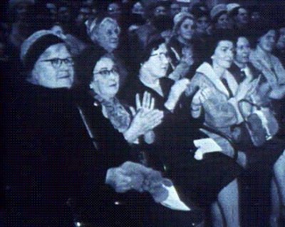 A typical Monty Python audience