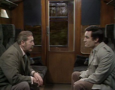 David Morrell & Anthony Ainley