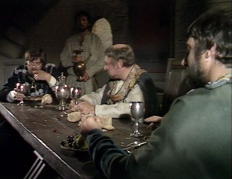 William Marlowe, David Ryall and Paul Darrow